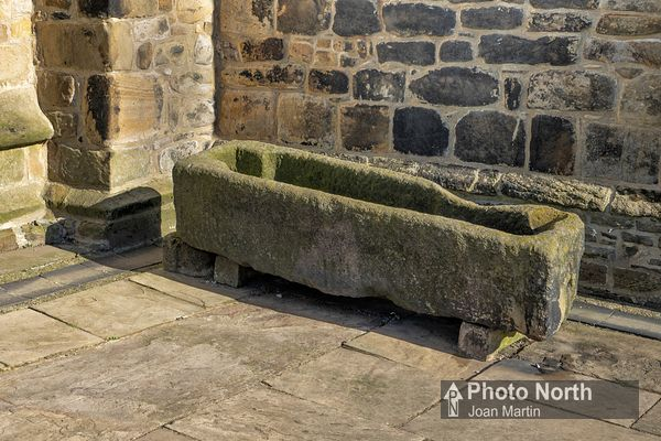 WHALLEY 14A - Medieval stone coffin