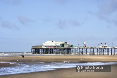 BLACKPOOL 10A - North Pier and Central Beach