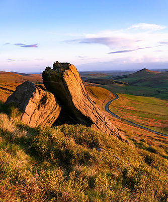 Shining Tor to Shutlingsloe sunset