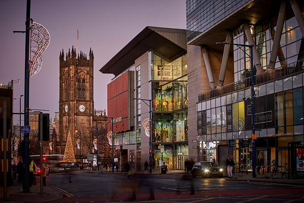 Manchester CATHEDRAL DEANSGATE