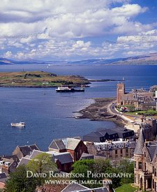 Image - Caledonian MacBrayne ferry arriving at Oban, Scotland