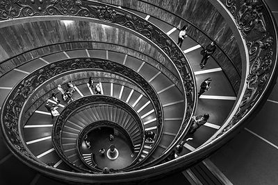 Bramante stairs, Vatican