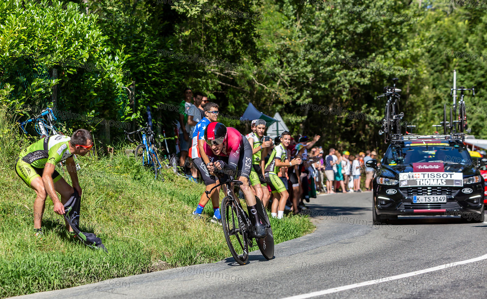 The Cyclist Geraint Thomas - Tour de France 2019