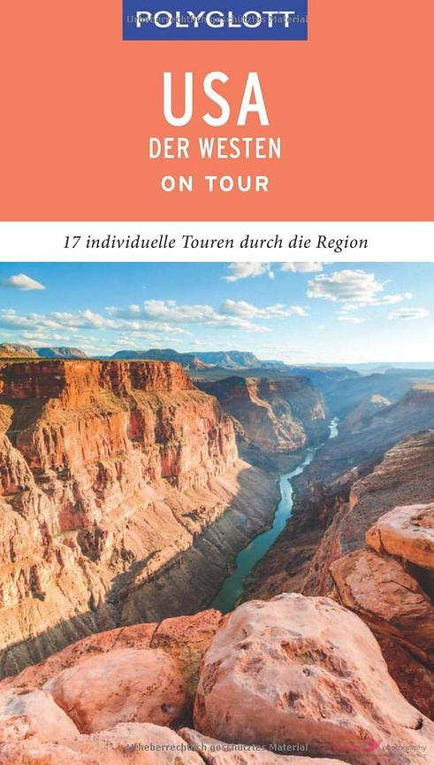 Cover Polyglott Travel guidebook Western USA 2020