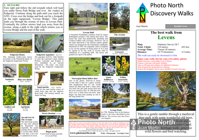 Levens walk - Two page PDF file