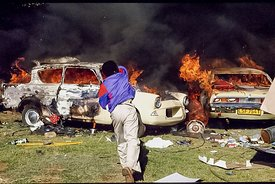 INCIDENTS IN SOWETO DURING CH. HANI'S FUNERAL