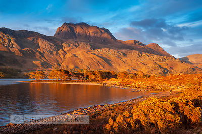 BP3123B - Slioch, from Loch Maree
