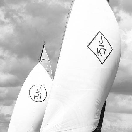 K7 and H1 sail abstract I