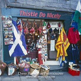 Image - Gift shop in Upper Bow, Edinburgh, Scotland