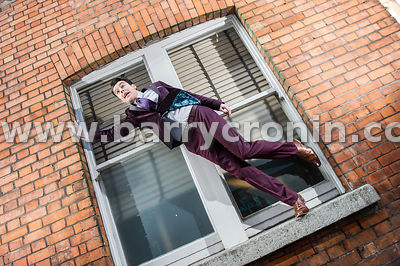 30th January, 2015.Comedian Al Porter photographed on Drury Street, Dublin, at 22yrs old he will be the youngest Irish comedi...