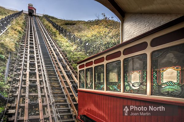 SALTBURN BY THE SEA 16B - Saltburn Cliff Tramway