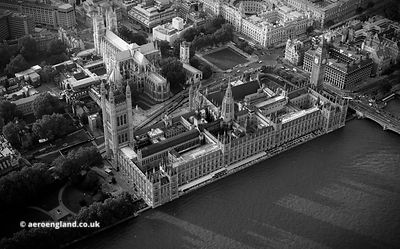 Houses of Parliament from the air