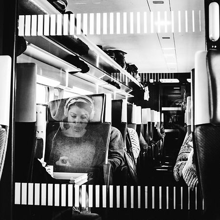 A ghost in the train