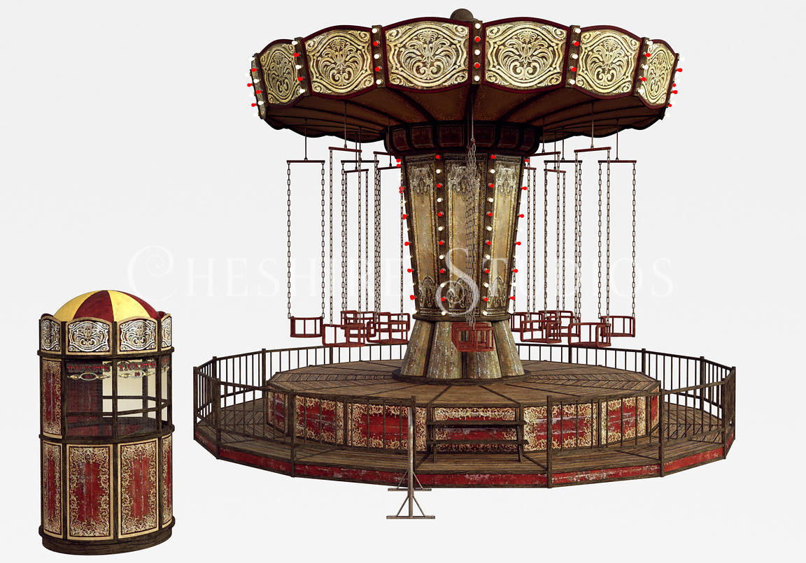 Circus or Carnival Swing Ride