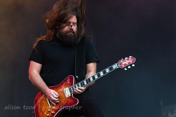 Mark Morton, guitar, Lamb Of God