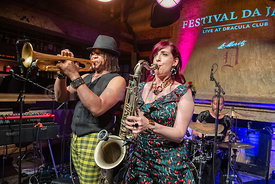 Opening Event of Festival da Jazz 2019 Live at Dracula Club St.Moritz