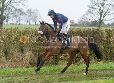 Dale Peters and BONAMARGY - Race 5 - Restricted - The Midlands Area Club at Thorpe Lodge 26/1