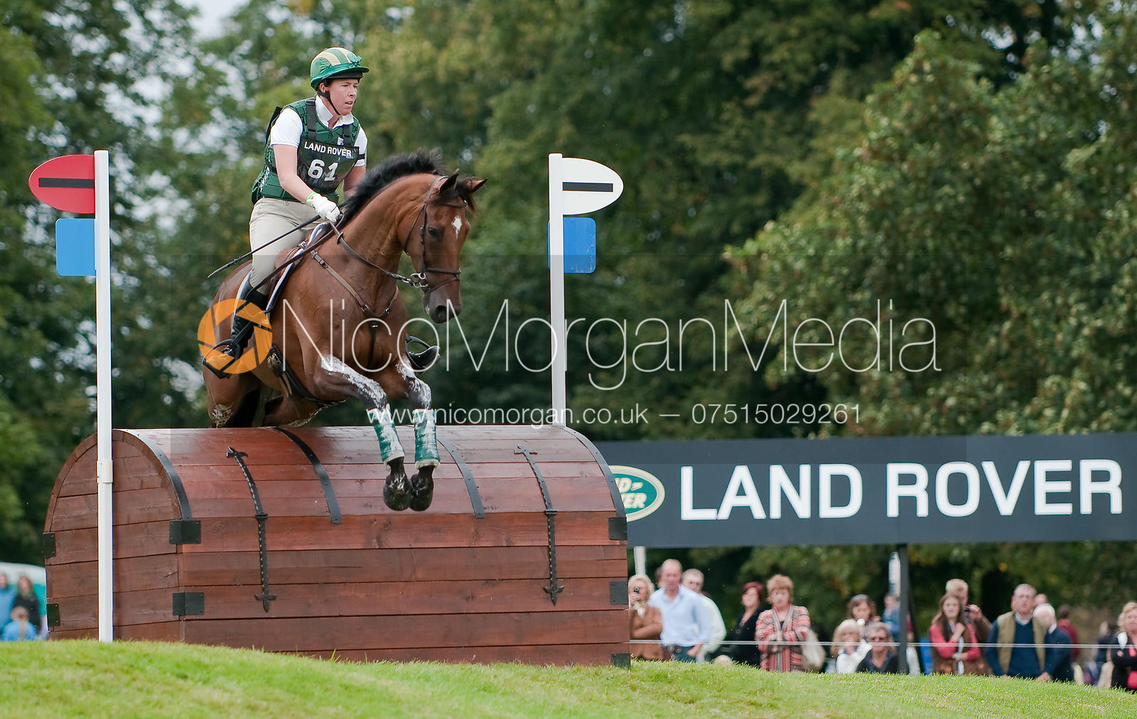 Amy Tryon and Leyland at Burghley Horse Trials 2009 - Land Rover Burghley Horse Trials 2009