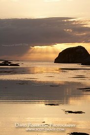 Image - Kintra sunset Isle of Mull, Scotland