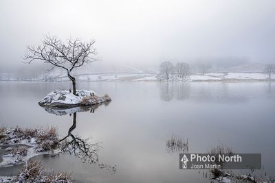 RYDAL 13A - Winter morning, Rydal Water