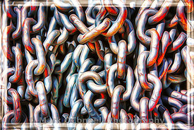 chains,airbrush,art,painting,marine,abstract