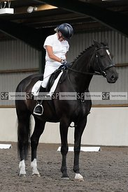 Stapleford Abbotts. United Kingdom. 11 August 2020. Afternoon dressage. MANDATORY Credit Ellen Szalai/Sport in Pictures - NO ...