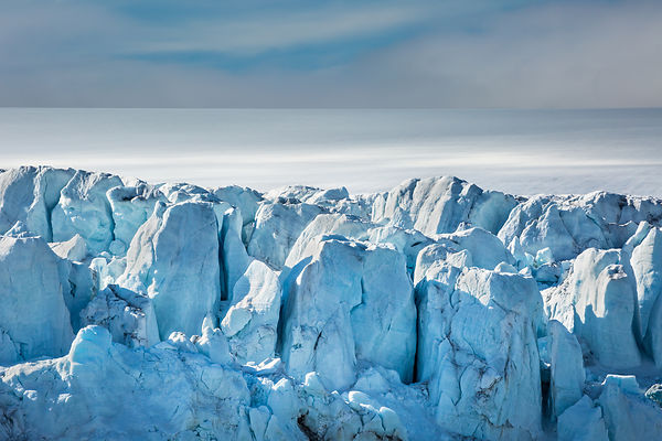 Blue Ice Field I