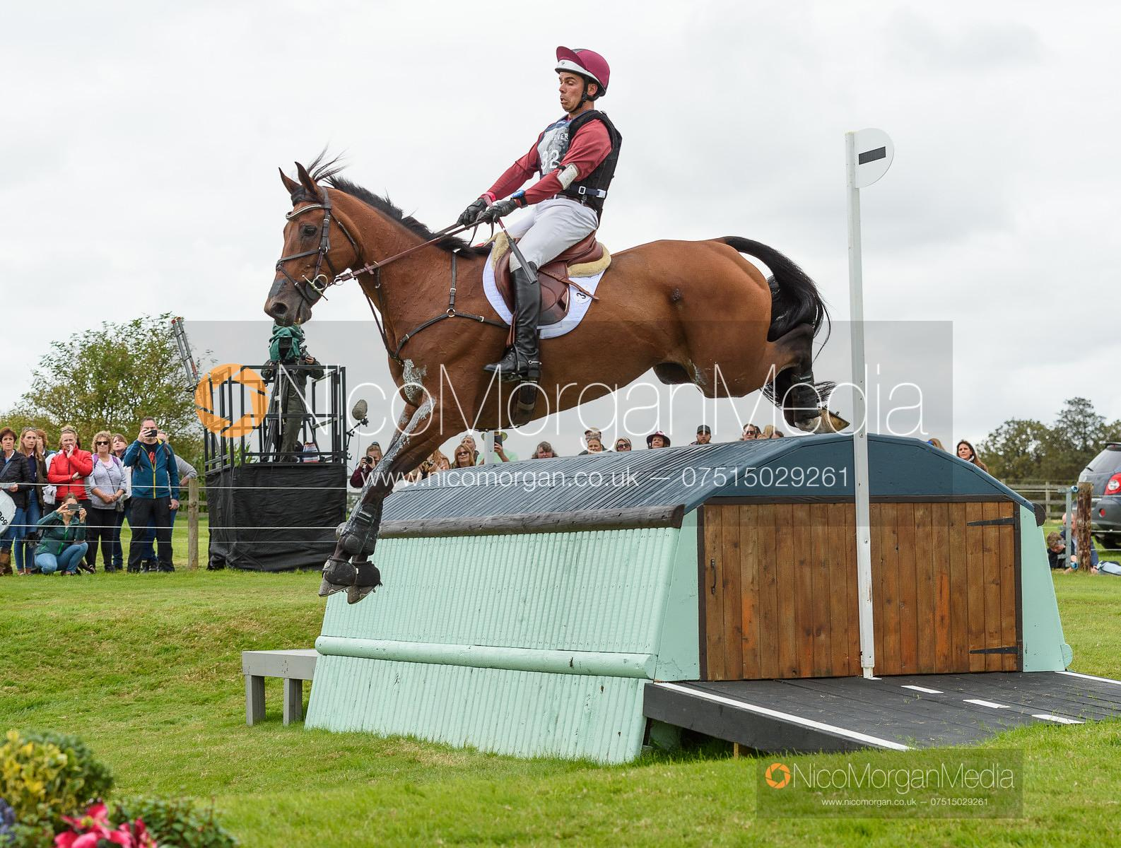 Dominic Schramm and BOLYTAIR B - Cross Country - Land Rover Burghley Horse Trials 2019