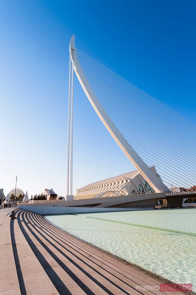 Assut de l'Or Bridge, City of Arts and Sciences, Valencia