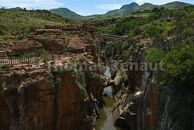 Potholes, blyde canyon, south africa