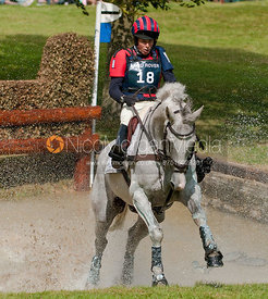 Emily Gilruth and Ashdale Cruise Master at Burghley Horse Trials 2009 - Land Rover Burghley Horse Trials 2009