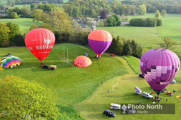 HOT-AIR BALLOONING 10B - Kirkby Lonsdale Meet