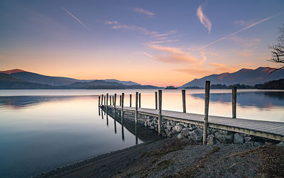Ashness Pier at sunrise, Lake District Photography
