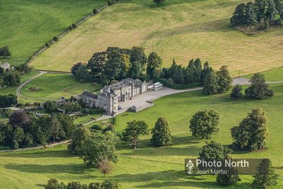 YEALAND CONYERS 01A - Aerial view of Leighton Hall
