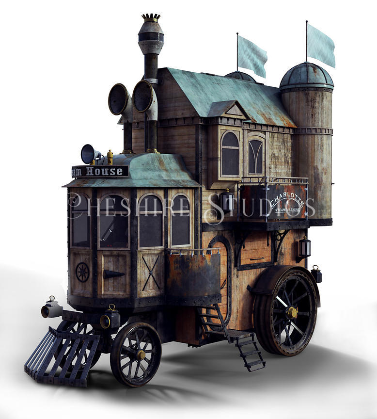 Steampunk Moving House