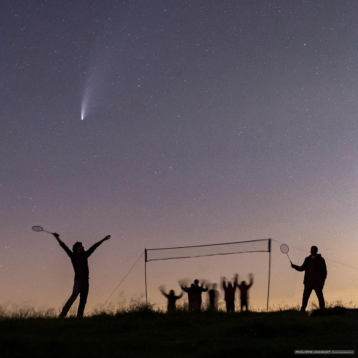 July,20  2020 - Comet game - Annecy Semnoz