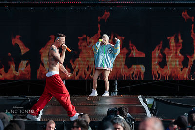 Die Antwoord at the Download Festival, Donington Park, Castle Donington, United Kingdom - 15 Jun 2019