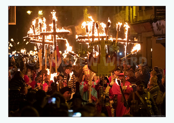Lewes Bonfire Night, 2018