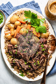 Beef Meat Pot Roast