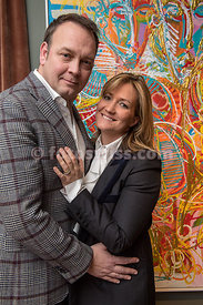 Allegra Gucci (Milano & Bar Balthasar St.Moritz) with husband Enrico Gucci (Milano & Bar Balthasar St.Moritz)