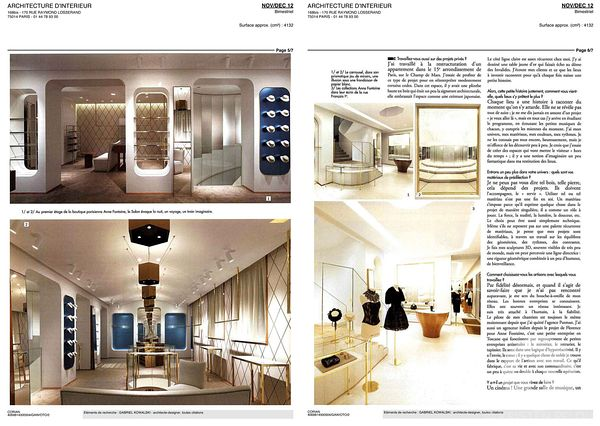 Photographe Architecture Paris - Publication print  RCHITECTURE_D_INTERIEUR Kowalski