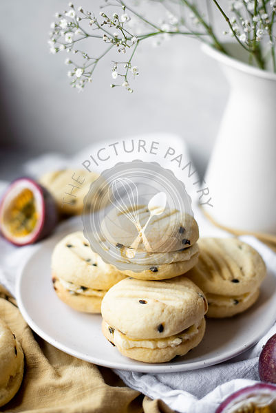 Passionfruit Sandwich Biscuits