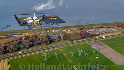Lelystad - Luchtfoto - Maxima-Centrale