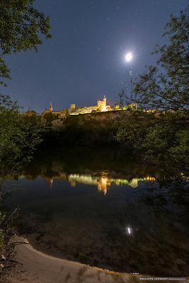 Medieval reflection - Aiguèze - Gard