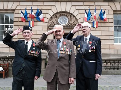 D-Day 75th anniversary, Edinburgh, Thursday 6th June 2019