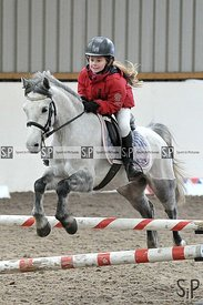 Unaffiliated showjumping. Brook Farm Training Centre. Essex. UK. 27/01/2019. ~ MANDATORY Credit Garry Bowden/Sportinpictures ...