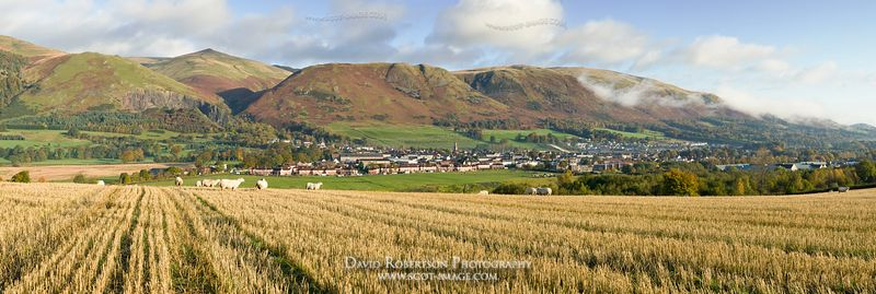 Image - Tillycoultry and the Ochils, Clackmannanshire, Scotland.