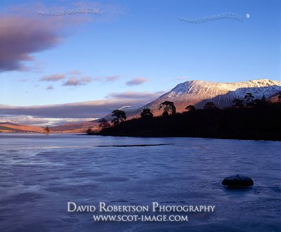 Image - Loch Tulla, Argyll, Scotland, Winter, Mountain View