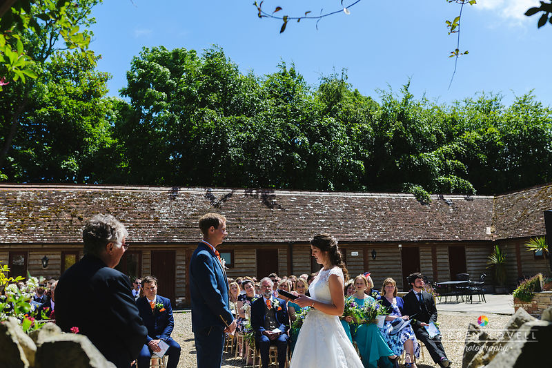 Zoe & Matt - Kingston Country Courtyard Wedding