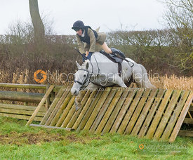 jumping a hunt jump after the meet